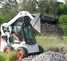 Hire Bobcat in Shellharbor Along with Excavator in Unanderra by louayalchaar15