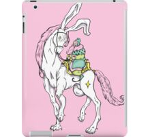 Old wizzard. Magic horse rider iPad Case/Skin