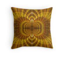 Golden Rim Throw Pillow