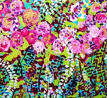 Climbing Roses by marlene veronique holdsworth