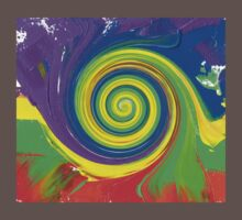 "Energetic Abstractions - ""Colour Wave Twist #3"" Kids Clothes"