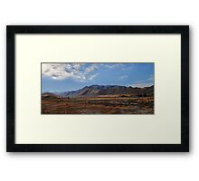Canterbury Plains, New Zealand Framed Print