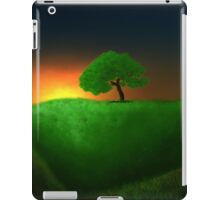 The lonly tree iPad Case/Skin