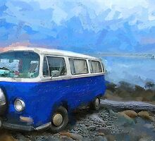 California Dreamin_County Line Beach, CA by Ron Regalado