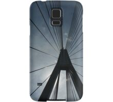 The Anzac Bridge - triptych Samsung Galaxy Case/Skin