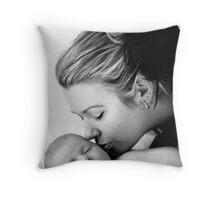the sweetest thing ............ Throw Pillow