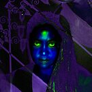 Sapphire Goddess  by Devalyn Marshall