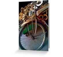 Bicycle desolate Greeting Card