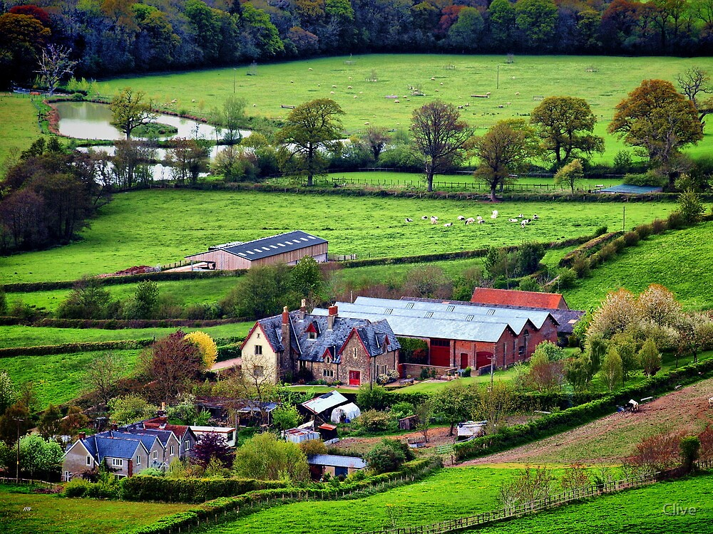 Rural England by Clive