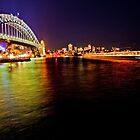 Sydney by Night by David Petranker