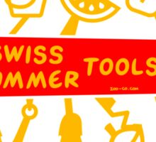 Swiss Summer Knife Sticker
