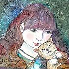 Happy as a cat in curls by vian