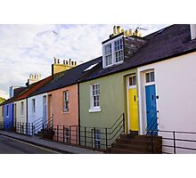 Colourful Cottages Photographic Print