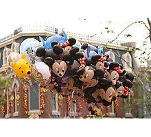 Balloons HK Dsineyland Photographic Print
