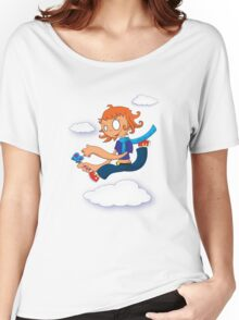 walkin on clouds Women's Relaxed Fit T-Shirt