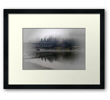 Lone Traveler Framed Print