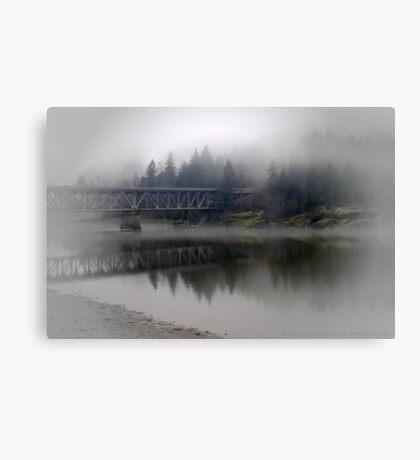 Lone Traveler Canvas Print