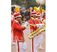 The Saints Go Marching Photographic Print
