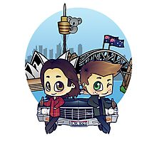 Winchesters in Sydney Photographic Print