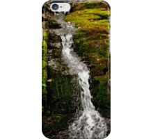 Mossy Falls,South Hobart,Tasmania iPhone Case/Skin