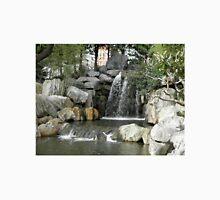 Waterfall, Chinese Gardens, Sydney, Australia. Unisex T-Shirt
