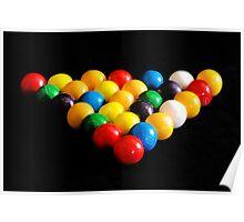 ''Snooker Balls'' Poster