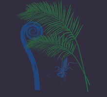 Fern, Palm, and Whip scorpion Womens Fitted T-Shirt