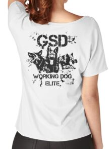 GSD - Working dog elite Women's Relaxed Fit T-Shirt