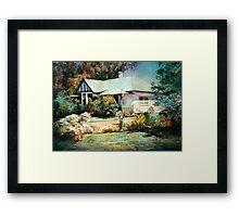 The Devanney Homestead, Seymour Framed Print