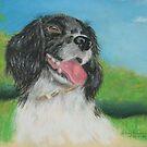Alice's dog Sammy by Hilary Robinson