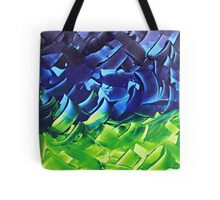 """Energetic Abstractions - """"Chakra Colours #2 of 2"""" Tote Bag"""