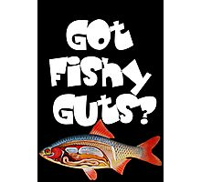 White Got fishy guts Photographic Print