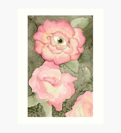 La vie en rose Art Print