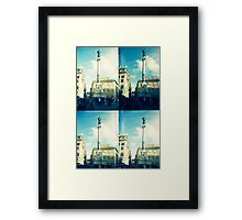 Rome Under An Acid Sky Framed Print