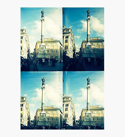 Rome Under An Acid Sky Photographic Print