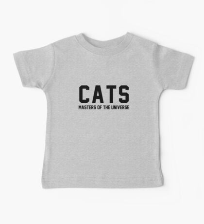 CATS - Masters of the Universe! Baby Tee