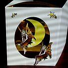 Rustic faeries, handmade card by anaisnais
