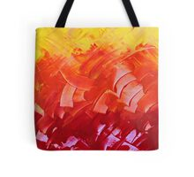 """Energetic Abstractions - """"Chakra Colours #1 of 2"""" Tote Bag"""