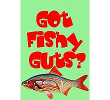 Red Got fishy guts Photographic Print