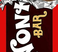 Wonka Bar Chocolate Gold Ticket Candy Sweets by DI-Store
