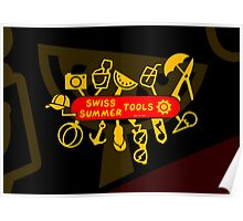 Swiss Summer Knife Poster