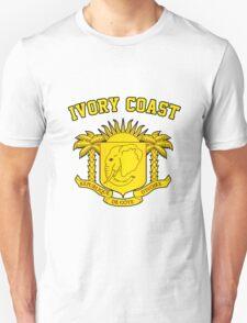 Ivory Coast Coat of Arms Unisex T-Shirt