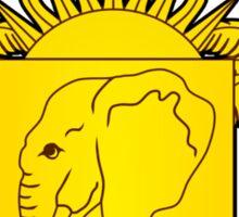 Ivory Coast Coat of Arms Sticker