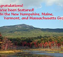 Challenge only for New Hampshire, Maine, Vermont, and Massachusetts by Linda Jackson