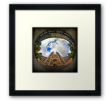 Natural History Museum, London - Wormhole Framed Print