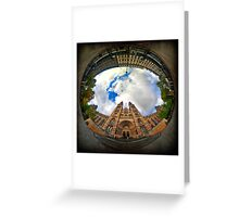 Natural History Museum, London - Wormhole Greeting Card