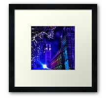 Natural History Museum, London, By Night Framed Print