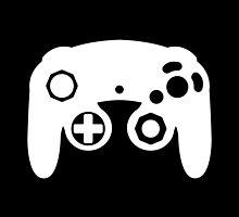 GameCube Controller Minimalist by Fardan Munshi