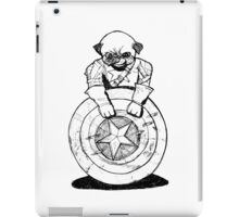 Pugs Love Comics Too - Captain Pug iPad Case/Skin