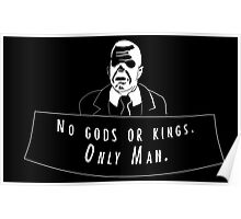 No Gods or kings Poster